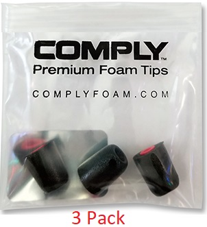 "NEW - Comply Canal Tips - For ""Mission Critical"" Comfort - Part No. COMP-CANAL TIPS"