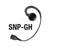 Replacement Parts: G-Hook Swivel earphone with Braided Fiber Cable and SNAP connector.