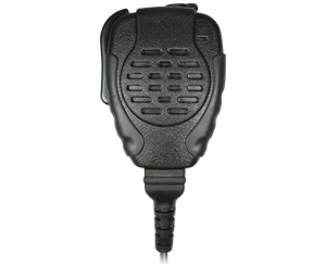 <b><span style='color: red;'>REPLACEABLE CABLE</span></strong> Trooper&reg; SPM-2100 Series - Heavy Duty Speaker Microphone </strong>with replaceable cable. Water and rain resistant.</p>