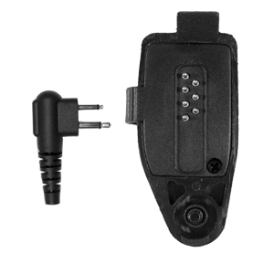 PA-MLN4455 allows the use of x03 style PRYME microphones with Motorola EX500 and compatible portable radios