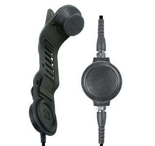 <b>SPM-1700 Series - Skull Microphone/Headset for CONSTRUCTION Hard Hats: </b>Lightweight in-helmet communications system that mounts to the helmet liner without tools.