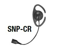 Replacement Parts: C-Ring (Adjustable D-Ring) earphone with Braided Fiber Cable and SNAP connector.
