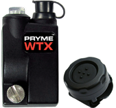 <b>PRYME WTX-510 - Wireless PTT Adapter:</b> Allows you to activate the PTT function of your compatible ICOM two-way radio wirelessly.