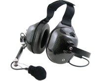 <b>HDS-EM Series - Dual Earmuff Headset</b>: Professional grade dual-muff headset perfect for racing intercom, avionics, and industrial use.