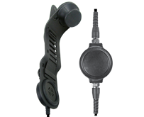 <b>SPM-1700 Series - In-Helmet Skull Microphone: </b>Lightweight in-helmet communications system that mounts without tools to the helmet liner.