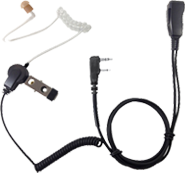 <b><span style='color: blue;'>PRO-GRADE Series</span>  LMC-1AT Series Economically Priced, Acoustic Tube, Surveillance Kit with Clear tube earphone, rugged PTT and stainless steel hardware.</b>
