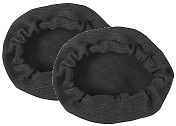 <b>P-EM-CLOTHC</b>: Replacement CLOTH Ear Pad Covers (pair) - Fits HDS and HBB models with Foam or Gel Ear Pads.