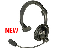 <strong>NEW FOR 2014 - HLP-SNL Series - Lightweight Padded Headset:</strong> Rugged Over-the-head headset with noise-cancelling boom mic and padded speaker.</p>
