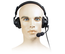 <strong>NEW FOR 2014 - AVIATION HEADSET - Lightweight Padded Headset:</strong> Rugged Over-the-head headset with noise-cancelling boom mic, two padded speakers and Aviation Cable (intercom).</p>