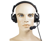 AVIATION HEADSET - Lightweight Padded headset:</strong> Rugged over-the-head headset with noise-canceling boom mic, two padded speakers and Aviation Cable (intercom).</p>