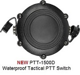 Replacement Parts: PTT-1500D - WATERPROOF Replacement PTT switch (Hockey Puck) for Gladiator & T Series