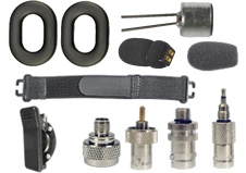 Special Cables, Parts and Misc. Accessories. NOW INCLUDING EARMUFF HEADSET PARTS