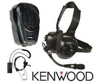 PrymeBLU Headsets, Speaker Mics & PTT Switches for KENWOOD Radios (models with Built-in Bluetooth ONLY)